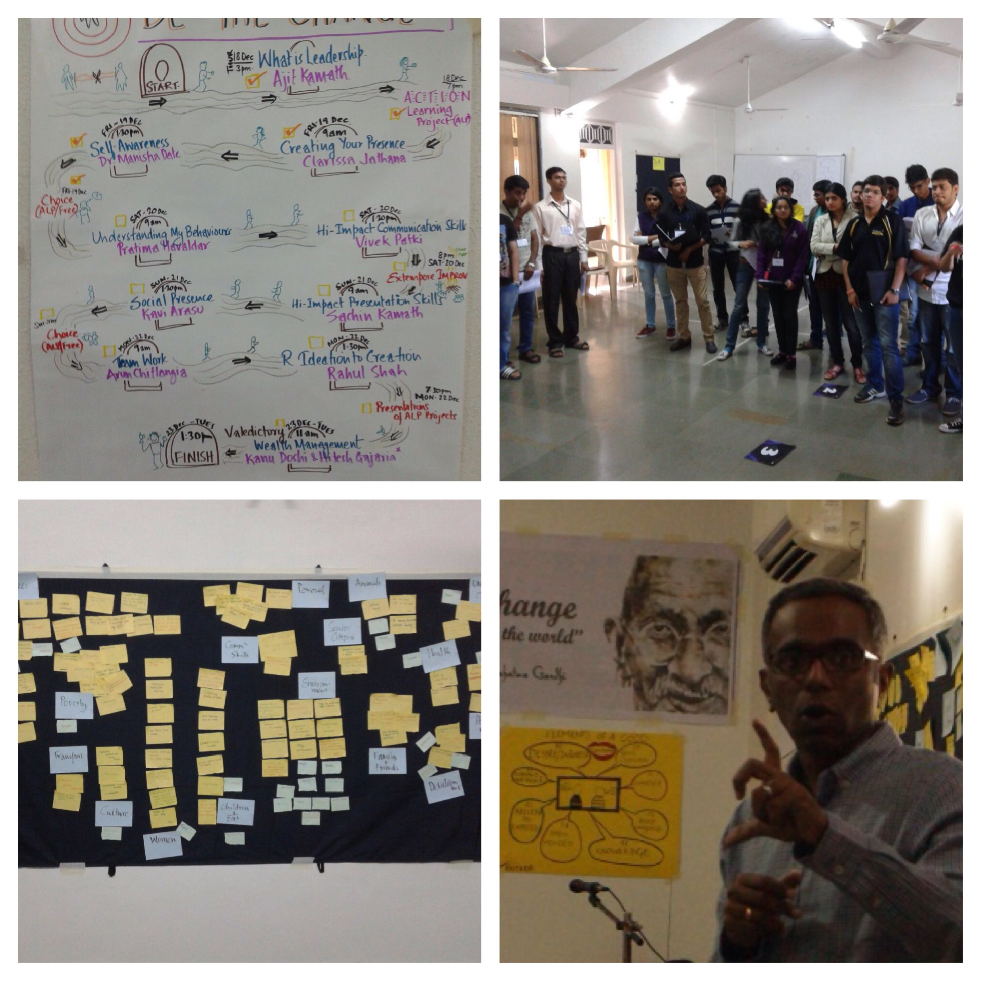 Working with young minds – Some Reflections